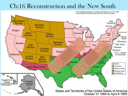 Ch:16 Reconstruction and the New South. 16:2 The Battle Over Reconstruction.