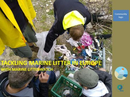 TACKLING MARINE LITTER IN EUROPE WITH MARINE LITTERWATCH 1 Community logo.
