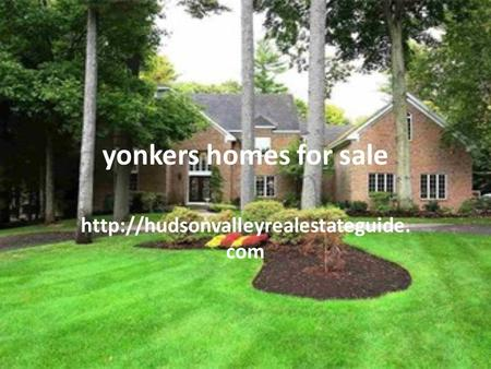 Yonkers homes for sale  com.