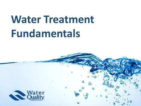 Water Treatment Fundamentals. Agenda MEP Fundamentals (1 st badge): Ion exchange chemistry Softener designs and options Ion exchange capacity calculations.