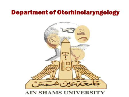 Department of Otorhinolaryngology. Terminology Otitis Media (OM): It is an inflammation of the mucosa of the middle ear cleft. Acute VS Chronic OM: If.