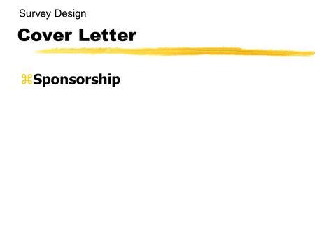 Cover Letter For Survey. Questionnaire Cover Letter Sample Client