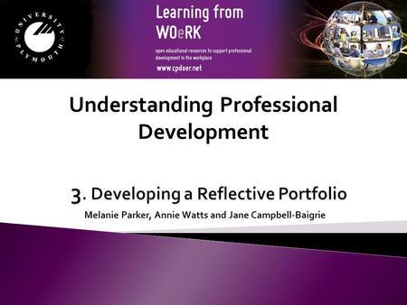 work based portfolio Work based learning portfolio faye straughan  nios 5123 and 5124 portfolio complete  5:42 512-3development of portfolio one subject based evaluation(workshop based activities .