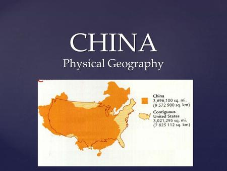 { CHINA Physical Geography.  Where would you find the source of the Huang He River? In what direction does it flow?  Where would you find the source.