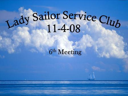 6 th Meeting. Welcome! Minutes, Treasurer Report Message from Dr. Crihfield KIVA update Outstanding Member for October Car Wash Grey Hound Project Holiday.