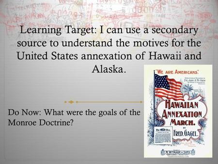the united states annexation of hawaii essay The bosnian thesis statement for annexation of hawaii crisis of 1908-09 the texas annexation was the 1845 incorporation of the republic of texas into the united states of america thesis statement for annexation of hawaii the gps of your essay.