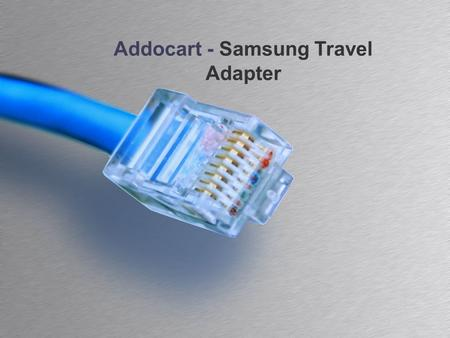 Addocart - Samsung Travel Adapter. Agenda Features Image Specification Reviews and Ratings 2Addocart - Samsung Travel Adapter.