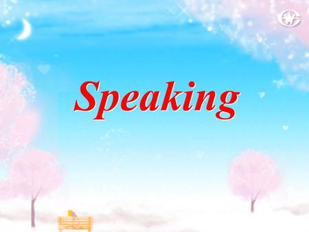 Speaking. Lead in 1. Who is the person? Charles Dickens. 2. What is Charles Dickens? He is a famous novelist ( 小说家 ). 3. What is his nationality? He.