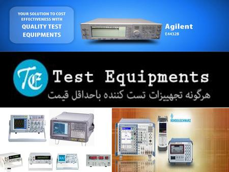  What is testequipments.ir?  Test Equipment is a leading company of Iran. They are the distributor of test equipment used in telecommunication industry.