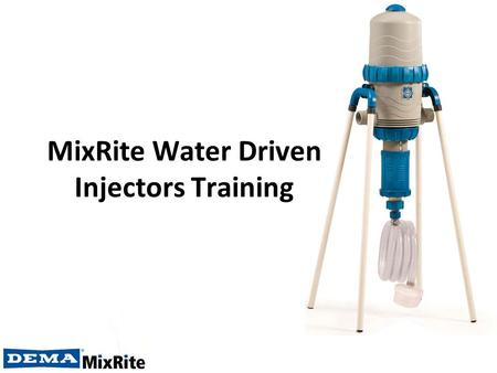 MixRite Water Driven Injectors Training. MixRite Installation Jordan Valley, Israel.
