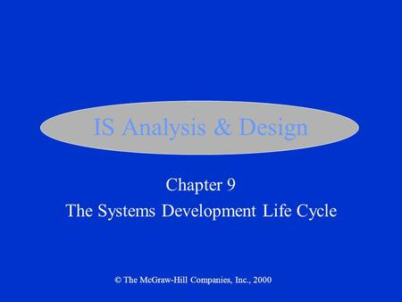 an analysis of the mcgraw hill mis video case primis Inf 620 week 6 assignment  specifically systems analysis,  you will need to review the case questions prior to watching mcgraw-hill mis video case: primis.