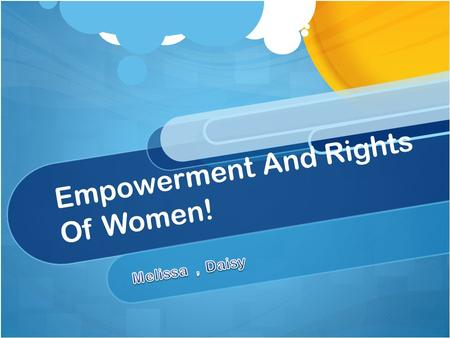 Empowerment And Rights Of Women!. Introduction The evolution of women's rights and status throughout history of Canada. The factors why the men and women.