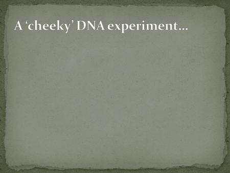 Experiments by Matthew Meselsohn and Franklin Stahl proved DNA replication was semi conservative. Using Esherichia coli (bacterium), they used two isotopes.