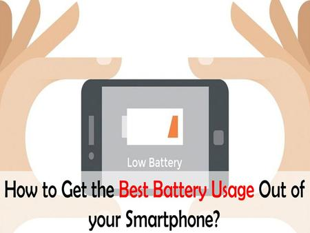 The batteries of smartphones can't last forever but sure it can last for a long time if used with proper care. Getting your phone charged properly is.