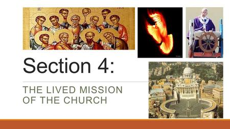 The Lived Mission of the Church