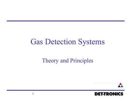 1 Gas Detection Systems Theory and Principles. 2 Gas/Vapours Hazards- Flammable / CombustibleFlammable / Combustible ToxicToxic Oxygen-deficiencyOxygen-deficiency.