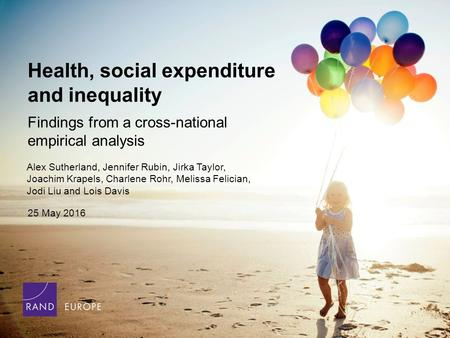 To bold text: Use Futura Std Medium, and click B in formatting toolbar Health, social expenditure and inequality Findings from a cross-national empirical.