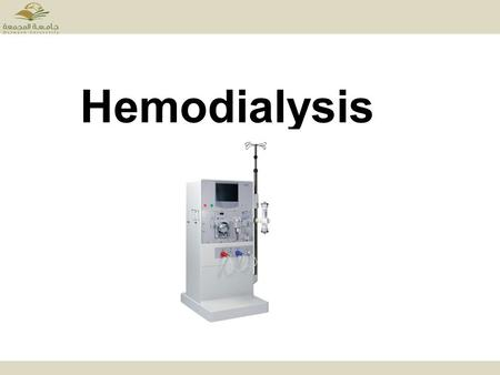 Hemodialysis. Normal Kidney: Normal kidneys are two bean-shaped organs, each about the size of human fist. They are located in the middle of human back.