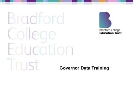 Governor Data Training. Secondary National Standards National Floor Standards 5 A*-C including English and maths above 40% rising to 50% in 2015. Progress.