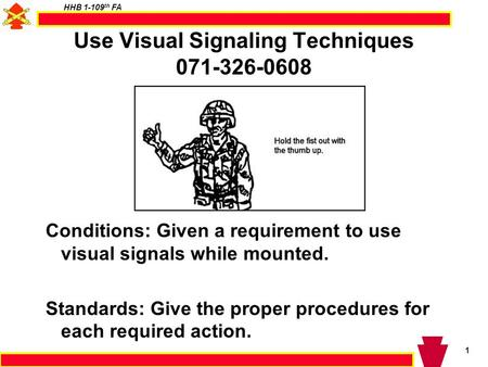Use Visual Signaling Techniques
