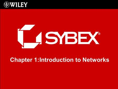 Click to edit Master subtitle style Chapter 1:Introduction to Networks.
