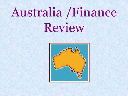 Australia /Finance Review. How does the high literacy rate in Australia affect its economy and enhance the standard of living for its citizens? 1.It has.