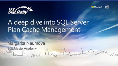 A deep dive into SQL Server Plan Cache Management.