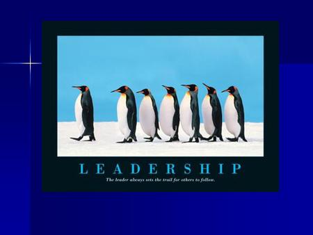 LEADERSHIP Attributed Power – perception among group members or others outside of the group of the leader's ability to lead. Attributed Power – perception.