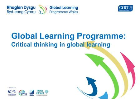 In partnership with Global Learning Programme: Critical thinking in global learning.