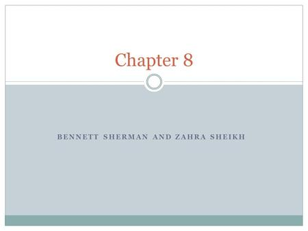BENNETT SHERMAN AND ZAHRA SHEIKH Chapter 8. 8.1 Science and Urban Life Technology was developing during this time to solve problems Growth of cities Newer.