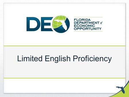Limited English Proficiency. Important Terms Language Access: Refers to the rights of Limited English Proficient (LEP) individuals to receive meaningful.