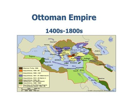 The Ottomans Build A Vast Empire Ppt