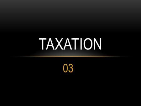 03 TAXATION. PROVIDENT FUND The contribution paid by employee from his salary is not a deductible expense. Employer contribution is exempt upto 10% of.