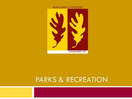Parks and Recreation Management college subjects miami dad