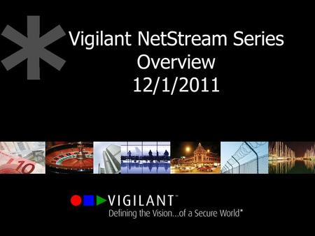 Vigilant NetStream Series Overview 12/1/2011. Private & Confidential. Copyright Vigilant Technology 2007 Vigilant NetStream Series IP Cameras Video Encoders.