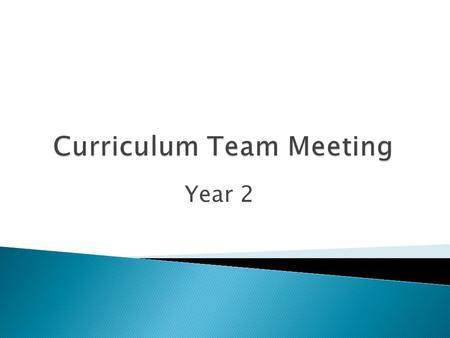 Year 2. 1.Name 2.What you teach 3.Hope or Fear Who makes up this Curriculum Team?