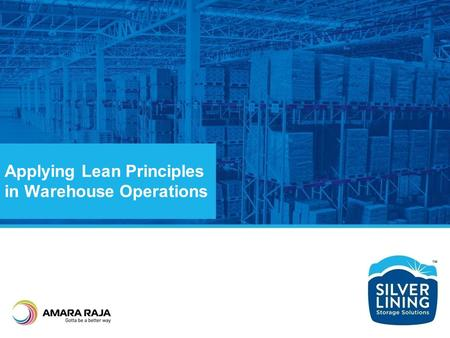Applying Lean Principles in Warehouse Operations
