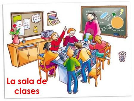 La sala de clases. Nouns refer to people, animals, places, things, and ideas. In Spanish, nouns have gender. They are either masculine or feminine. Most.