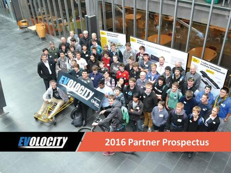 2016 Partner Prospectus. Join our Cause 1.EVolocity is committed to providing affordable access to innovative 21 st century programming that will help.