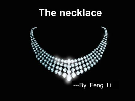 the power of money in the necklace a short story by guy de maupassant The necklace, a short story by guy de maupassant.