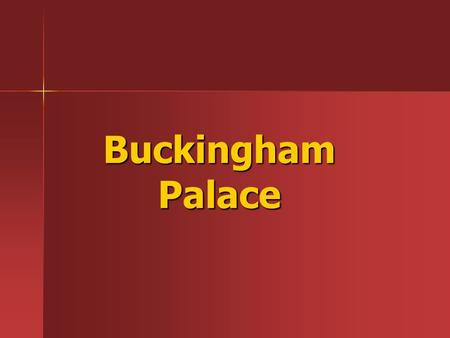 Buckingham Palace. Buckingham Palace is the official London residence of the British monarch. Buckingham Palace is the official London residence of the.