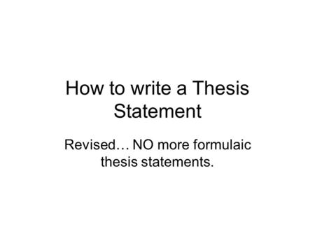 thesis statement capital punishment good Thesis statement capital punishment looking for a world-class essay writing service we offer every type of essay service for a wide variety of topics.