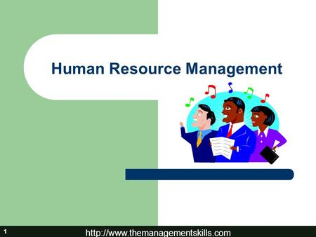 1 Human Resource Management.