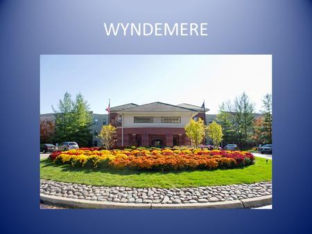 WYNDEMERE. Located in Wheaton, Illinois Opened August 16, 1993 Townhomes added 1994-1995 330,000 square feet 30,000 square feet of common areas. Combined.