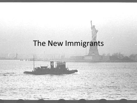 The New Immigrants. Who came to America? Between 1800 – 1880 over 10 million immigrants came to America – Old Immigrants: many were Protestants from Northwestern.
