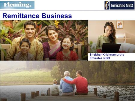Shekhar Krishnamurthy Emirates NBD Remittance Business.