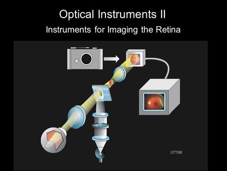 Optical Instruments II Instruments for Imaging the Retina.