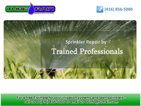 Tips on how to winterize your lawn sprinkler system Benefits of using Lawn Sprinkler Systems.