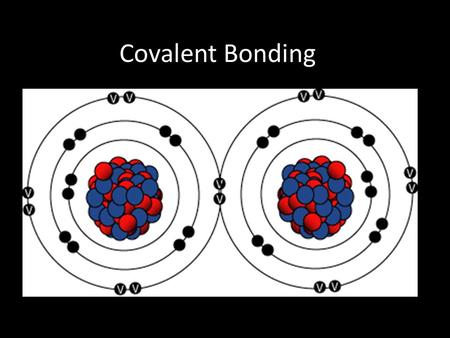 Covalent Bonding. 4.2.1: Describe the covalent bond as the electrostatic attraction between a pair of electrons and positively charged nuclei. 4.2.2: