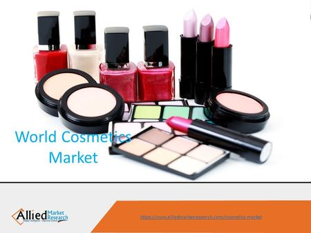World Cosmetics Market